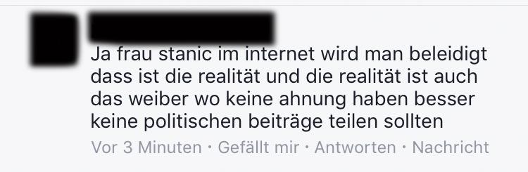 Dieser Herr zeigt mit seinem Kommentar, was im Internet alles falsch läuft.