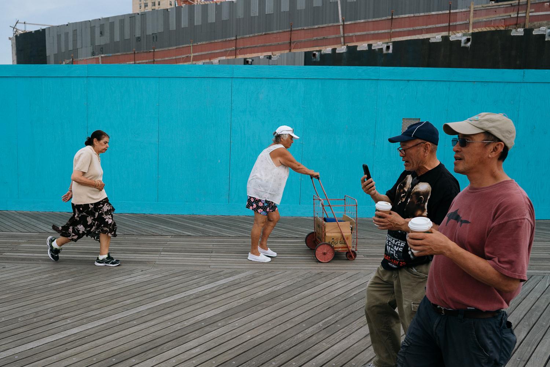 Coney Island ist einfach cool.